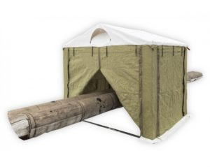 Огнеупорная Палатка сварщика 2.0х2.0 м (ПВХ+брезент)