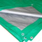Строительный тент-полог тарпаулин 10х15м 120 г/м2