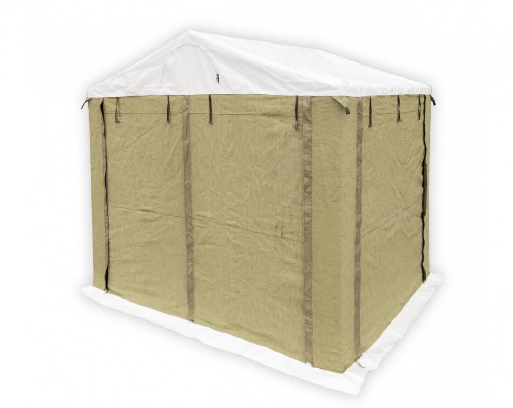 Палатка 2.5х2.0 м (ПВХ+брезент)