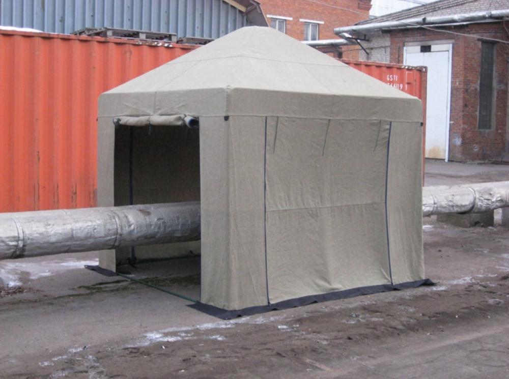 Палатка 2.5х2.5 м (брезент ОП)