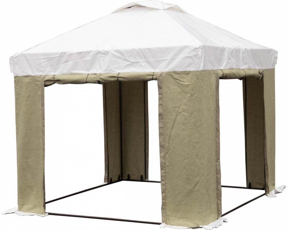 Палатка 2.5х2.5 м (ПВХ+брезент)