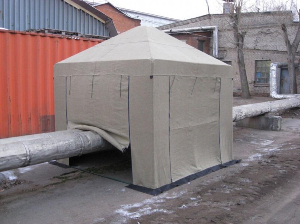 Палатка 3.0х3.0 м (брезент ОП)