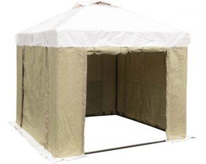 Палатка 3.0х3.0 м (ПВХ+брезент)