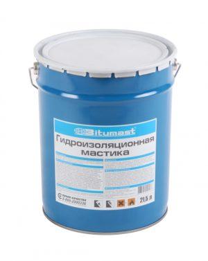 Мастика гидроизоляционная Bitumast 21,5 л