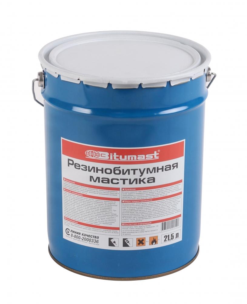 Мастика резинобитумная Bitumast 21,5 л