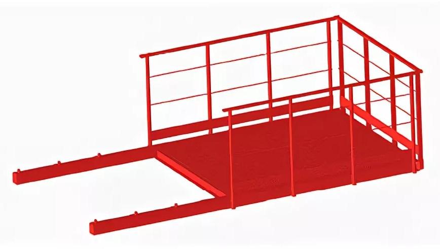 Выносная площадка ПВ-1,5 (сталь)