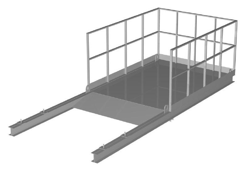 Выносная площадка ПВ-3,0 (сталь)