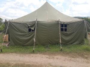Огнеупорная Палатка армейская