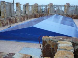 Тент-полог для бассейна