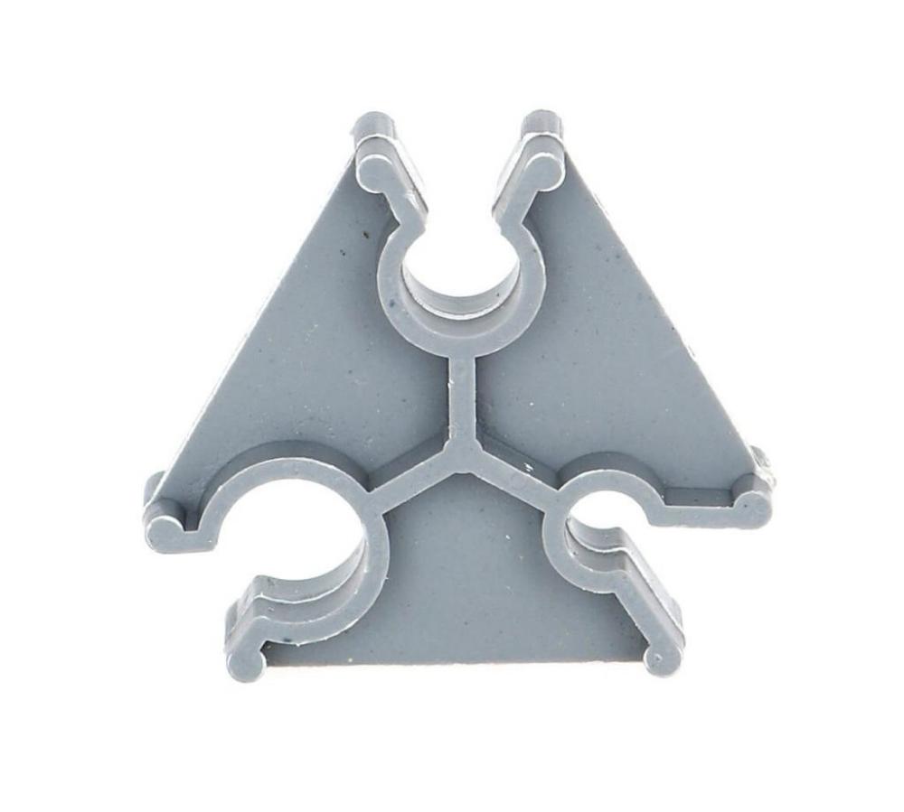 Купить фиксатор арматуры треугольник 5-8-10/25 (в уп. 3000 шт.) оптом в Санкт-Петербурге от производителя, производство