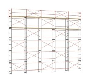Купить строительные рамные леса ЛРСП-100 оптом в Санкт-Петербурге от производителя, производство