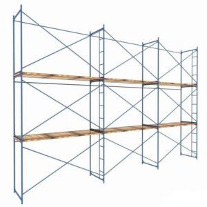 Купить строительные рамные леса ЛРСП-30 оптом в Санкт-Петербурге от производителя, производство