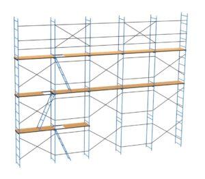 Купить строительные рамные леса ЛРСП-40 оптом в Санкт-Петербурге от производителя, производство