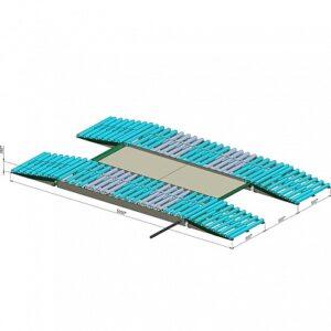 Купить модульные металлические эстакады низкие 3м оптом в Санкт-Петербурге от производителя, производство