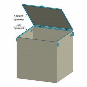 Купить приямок для сбора воды металлический 2м оптом в Санкт-Петербурге от производителя, производство
