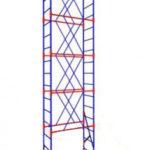 Вышка-тура строительная передвижная  (1,6х1,5) (10 секций+1 база+4 колеса)