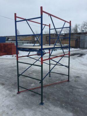 Купить строительные вышки-туры переносные (2X1) 1 секция+настил (без колес) оптом в Санкт-Петербурге от производителя, производство