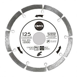 Купить диск алмазный 125x22 сегм. ONYX/бетон ,кирпич оптом в Санкт-Петербурге от производителя, производство