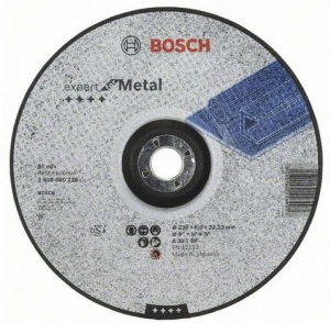 Купить круг зачистной 230x6x22 BOSCH Expert вогнутый /2.608.600.228 оптом в Санкт-Петербурге от производителя, производство