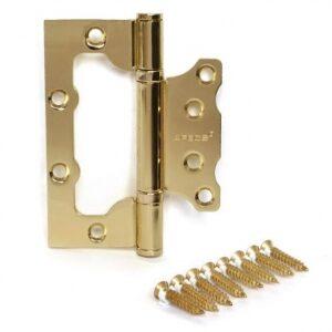 Купить петли 100мм золото дверная ВО20 оптом в Санкт-Петербурге от производителя, производство