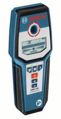Купить детектор BOSCH GMS 120 Prof  /0.601.081.000 (9V,глубина-12см,черные/цвет.металлы,электропроводка,дерево) оптом в Санкт-Петербурге от производителя, производство