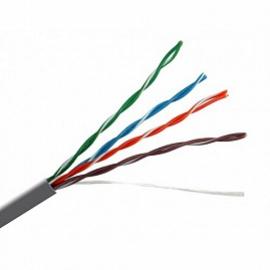 Купить кабель связи витая пара U/UTP, серый кат.5E 4x2x0,51 solid, PVC, 305м,ITK (в уп. 100 шт.) (24AWG) оптом в Санкт-Петербурге от производителя, производство