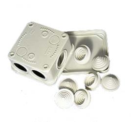Купить коробку монтажную 70x70мм Tyco IP55 оптом в Санкт-Петербурге от производителя, производство
