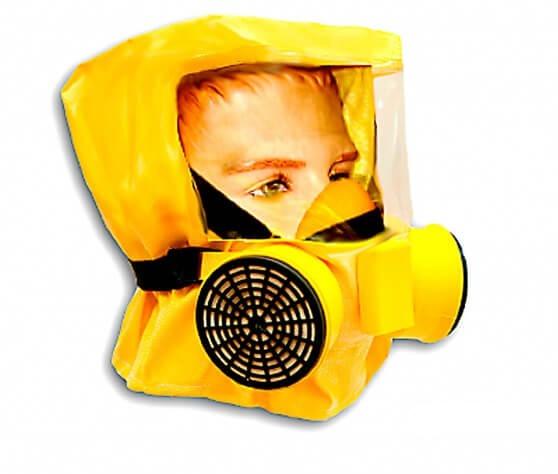 Купить самоспасатель «Шанс-Е» с полумаской оптом в Санкт-Петербурге от производителя, производство