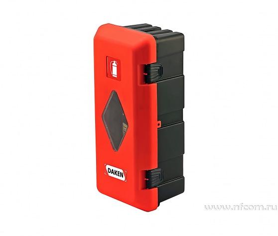 Купить шкаф-ящик для огнетушителя «ADAMANT» пластиковый оптом в Санкт-Петербурге от производителя, производство