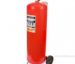 Заказать огнетушитель ОП-100 ABCE передвижной оптом в Санкт-Петербурге от производителя, производство