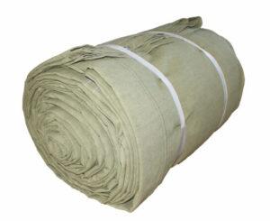 Тент брезентовый огнезащитный 1х1м (1м2) 510г/м2